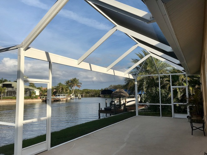 Panoramic view screen enclosure on SE 21st St, Cape Coral, FL 33990