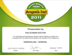 Angie's List 2011 Super Service Award Remodeling - General