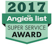 2017 Angie's List Super Service Award Winner